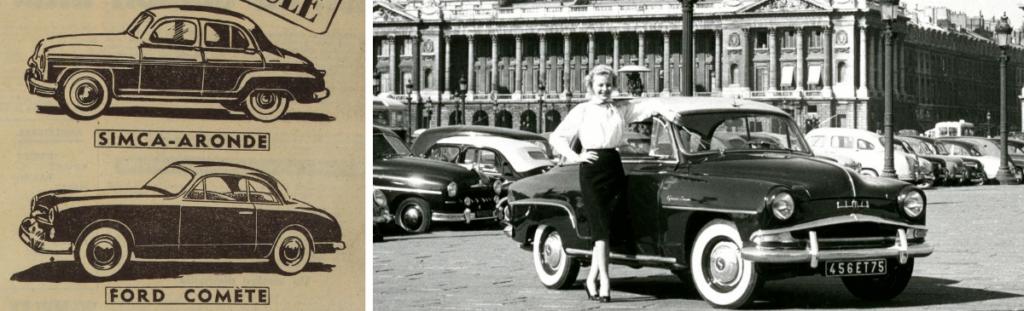 Mariage de Simca et Ford France en 1954